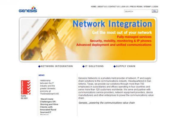 6. Genesis Networks Telecom Services LLC  Ubicación- San Antonio, Texas....