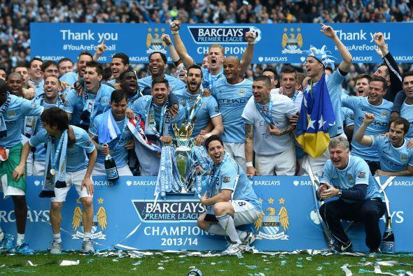 Este es el cuarto título del City en la máxima categoría de Inglaterra.