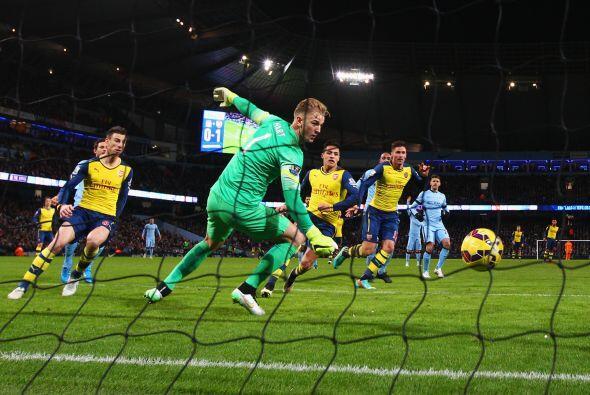 Arsenal aseguraría el partido con la segunda conquista al minuto 64 de t...