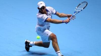 Roddick participó en las finales del Tour Mundial de la ATP el pasado me...