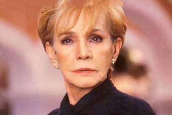 Magda Guzmán fue uno de los grandes íconos del cine, teatro y televisión.