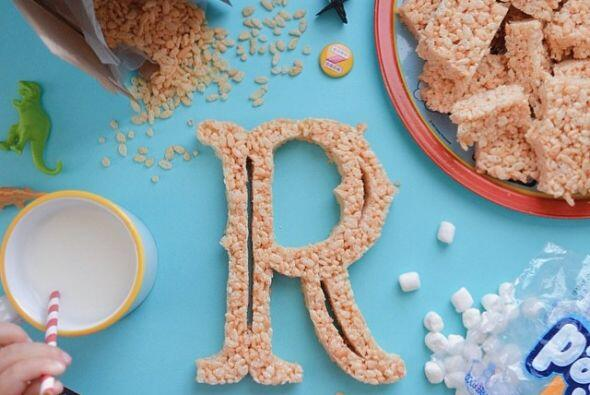 R is for Rice Krispies Treats