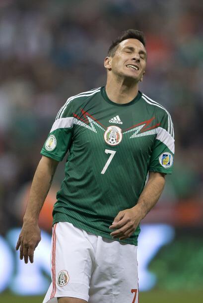 Durante la parte final de la eliminatoria mundialista, Christian Giménez...