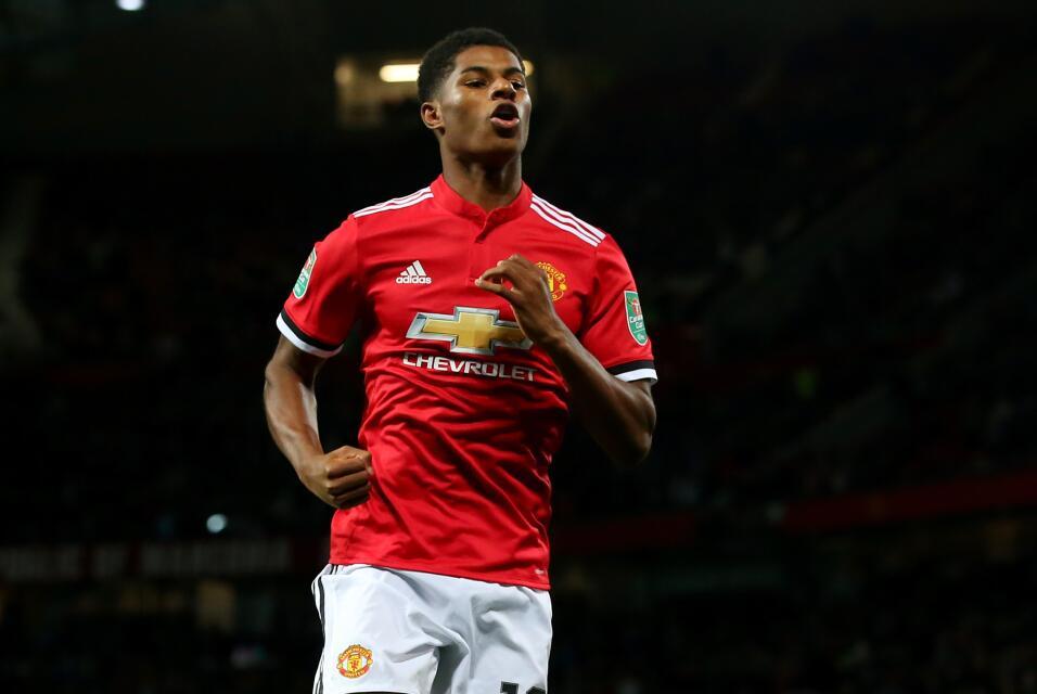 3. Marcus Rashford - Delantero (Inglaterra / Manchester United)