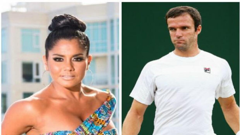 La boricua confesó que sale con un joven tenista, pero aún no son novios...