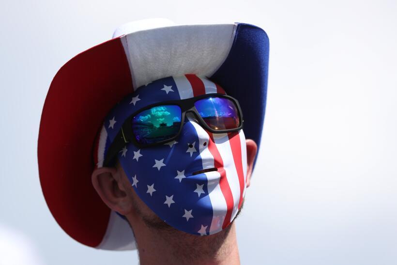 El público norteamericano se dio cita para apoyar a su selecci&oa...