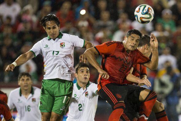 Ante la selección de Bolivia, México ha jugado dos partidos con saldo de...