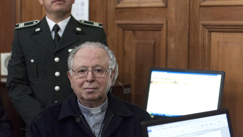 Fernando Karadima en el tribunal