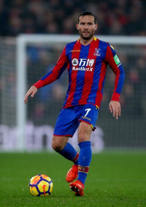 15. Yohan Cabaye (Crystal Palace): el mediocampista es el mejor jugador...