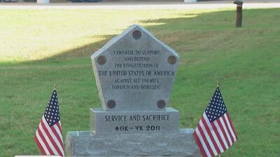 Honran la vida de soldados caídos en San Antonio
