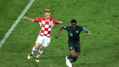 En fotos: Croacia gana 2-0 a Nigeria en el cierre de la larga jornada sabatina del Mundial