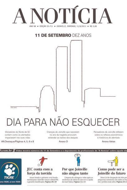 Cortesía de A Noticia de Jainville, Brasil, vía Newseum.