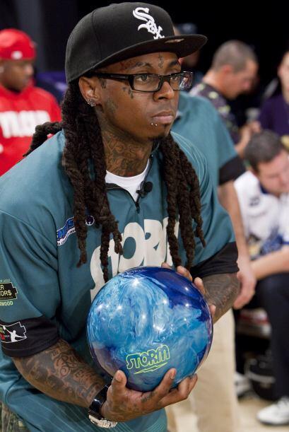 El controversial rapero Lil Wayne necesitaba una estrategia que ablandar...