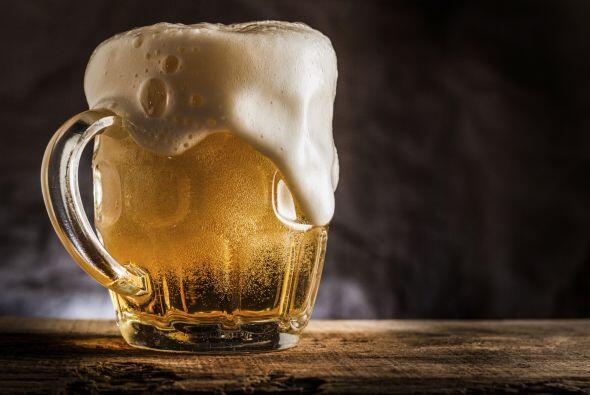 Para el primer día del otoño, una rica cerveza.