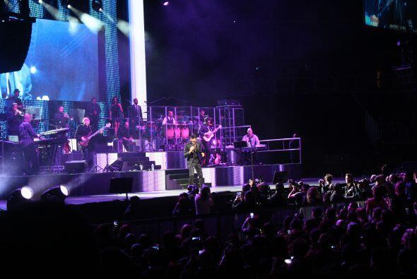 Marc Anthony deleitó a los fans que se dieron cita el pasado fin de sema...