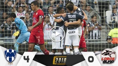Monterrey vs. Lobos en vivo Clausura 2018