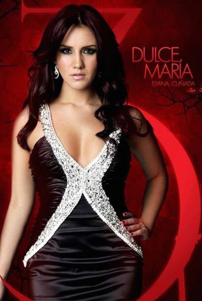 Dulce María es Eliana, Cuñada.