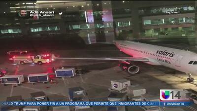 Cancelan vuelo por derrame de combustible en el aeropuerto de San Francisco