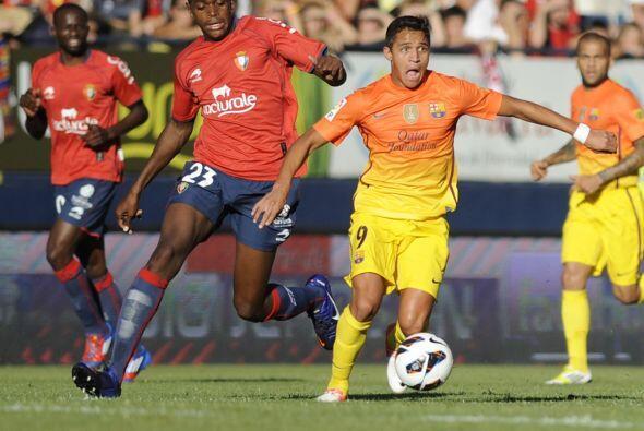Con el marcador en su contra, el Barcelona se concentró en ir por...
