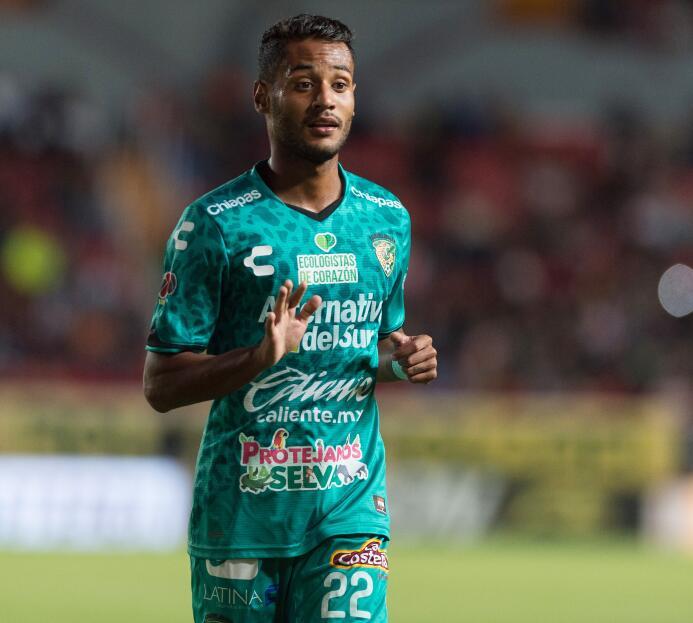 El brasileño Mateus Gonçalves, que jugó a préstamo en el descendido Chia...