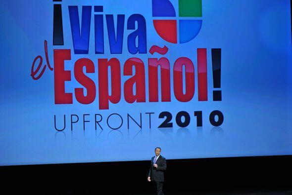 Con el lema Viva el español, Univision quiso demostrar una vez más la im...