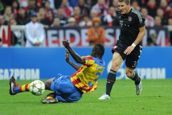 En Munich, el Bayern, subcampeón de la edición anterior, recibió al Vale...