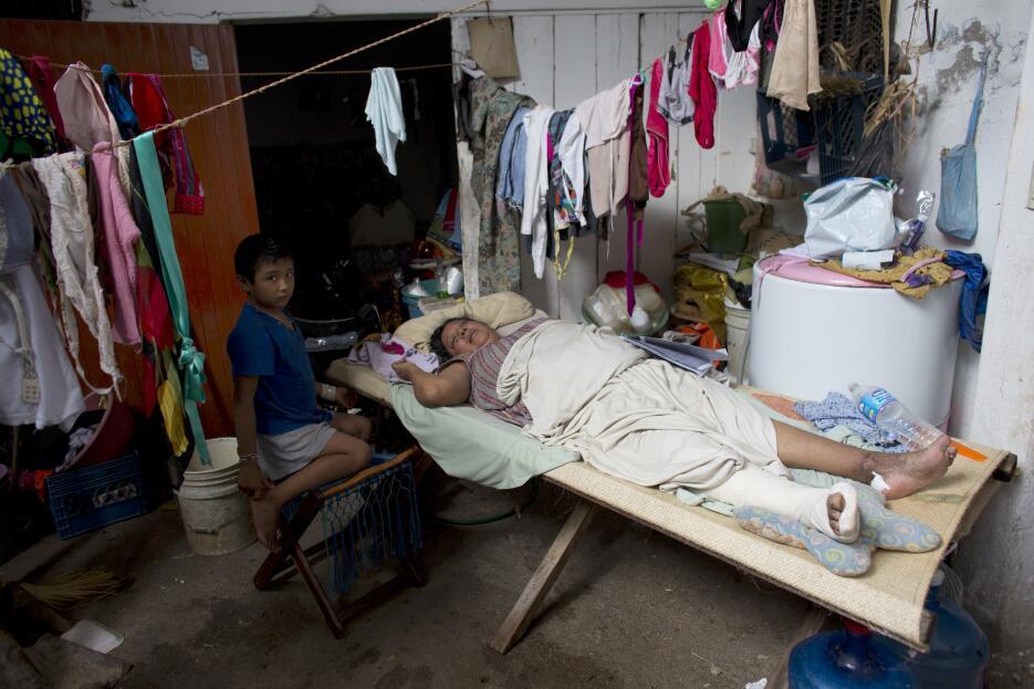 Damnificados terremoto México