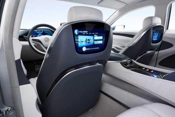 Buick Avenir Concept: El interior está constituido con cuatro asientos i...