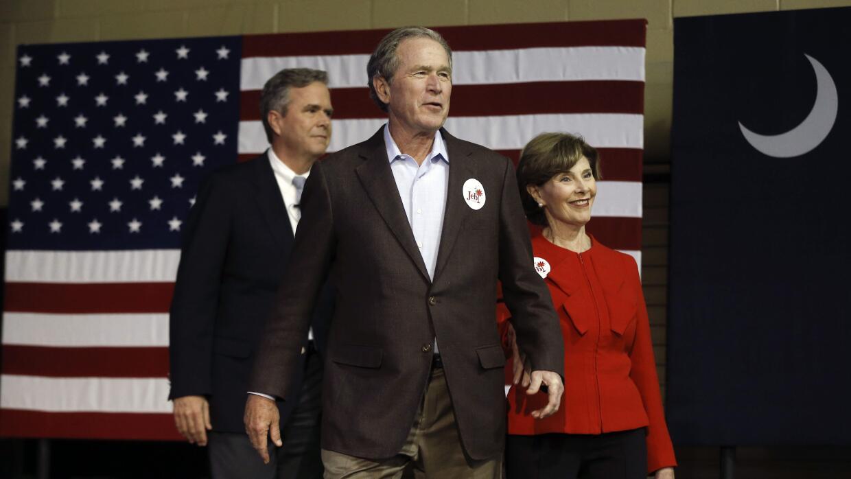 George W. Bush, otro familiar que sale en ayuda de Jeb Bush georgebush.jpg