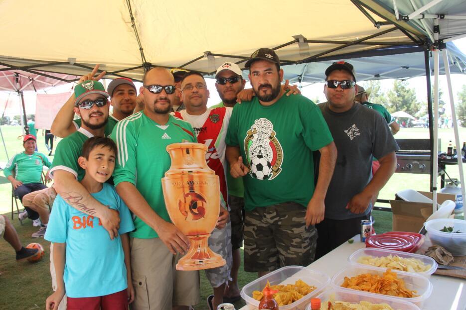 Los mexicanos prenden la fiesta en Copa América Centenario