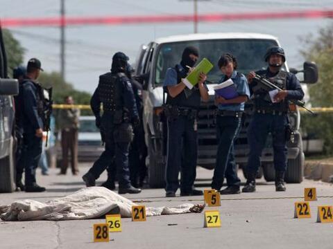 Octubre se coronó como el mes más violento en la fronteriz...