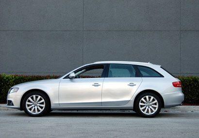 El Audi Avant es la vagoneta familiar del Audi A4.