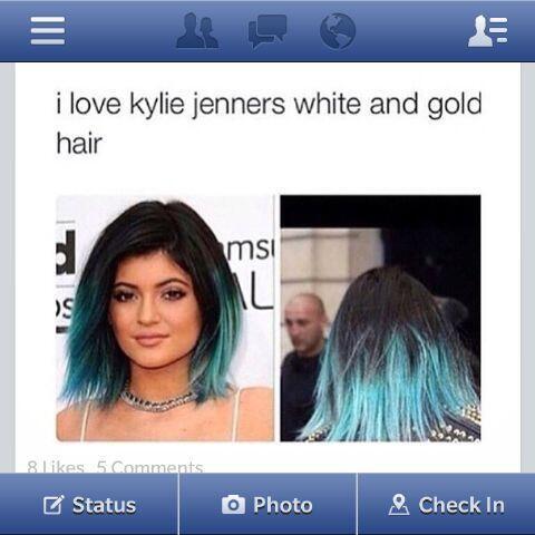 Kylie también tiene muchas canas en su cabellera rubia.