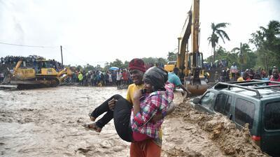 En fotos: el sudoeste de Haití después del huracán Matthew