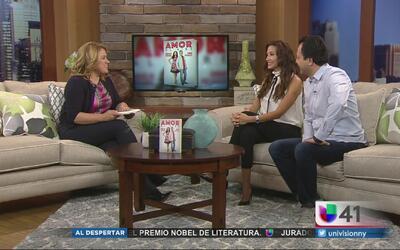 Omar y Argelia presentan el libro 'Amor al aire'