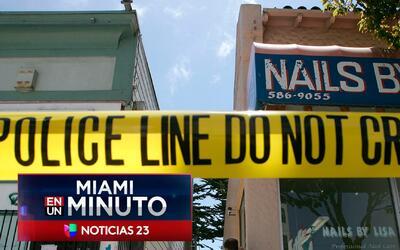 'Miami en un Minuto': falleció la mujer que había sido atacada por su ve...