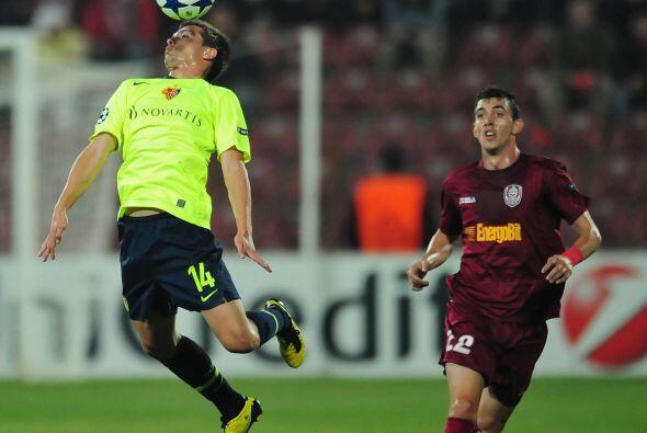 El Cluj enfrentó al Basilea con la apuesta de hacer valer su localía.