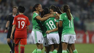 Eu un gran partido, México venció 2-0 a Corea del Sur en el Mundial sub-20 de fútbol femenino