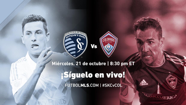 Sigue en vivo Sporting KC vs Colorado Rapids