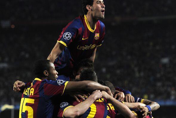 Este gol fue un respiro para los 'blaugranas', que vivían cierta...