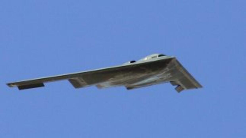 El bombardero furtivo B-2, con capacidad nuclear del Ejército de Estados...