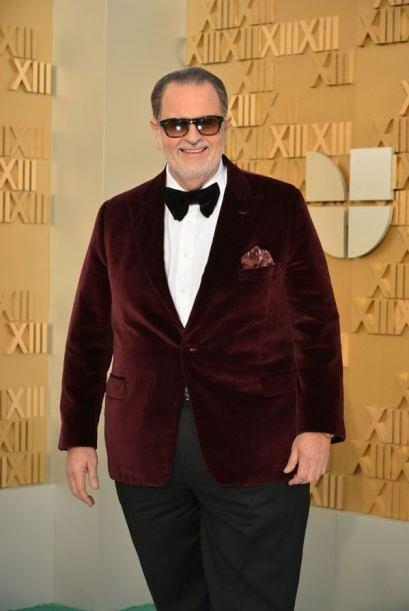 Raúl derrochó 'glamour' en 2012. Muy en tendencia con el terciopelo, una...