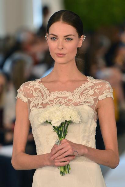 """""""Toda novia sueña con tener ese vestido tan especial, algo que yo intent..."""