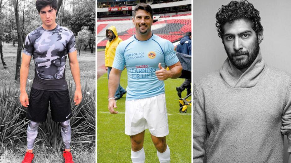 Actores noveleros que querían ser futbolistas