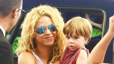Shakira llega a Miami muy estresada