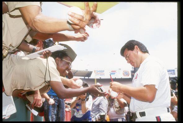 Sin importar la franela que vistiera, Fernando Valenzuela era un imán de...