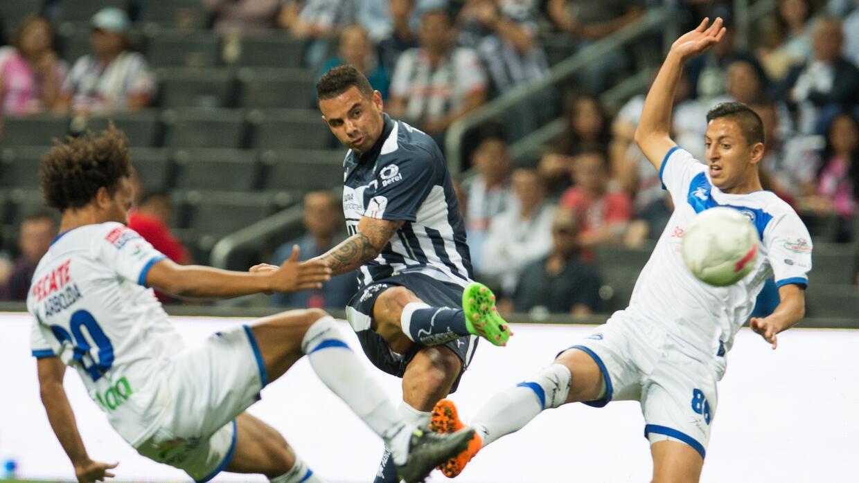 Rayados y Toros igualaron en el Estadio BBVA Bancomer.
