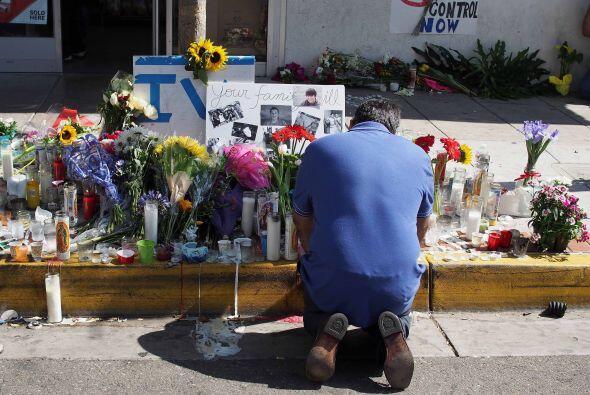 El padre de Chris Martinez completamente devastado por la tragedia.