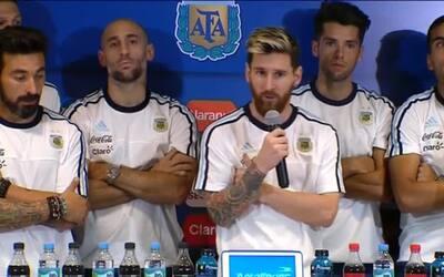 """Lionel Messi lidera """"campaña de silencio"""" de la selección argentina"""