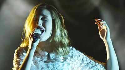 Sofía: 'Me costó mucho mostrar emoción al cantar la canción de Jesse & Joy'